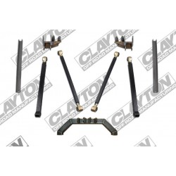 "4""- 8'' Clayton Offroad Long Arm Upgrade Lift Kit rear half - Jeep Grand Cherokee ZJ"
