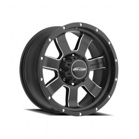 "Alloy Wheel 9x17"" 5x127 ET -6 - ProComp Model 5139 Satin Black - Jeep Grand Cherokee WJ"