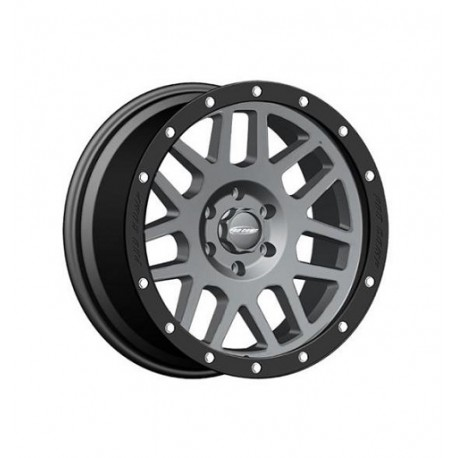 "Alloy Wheel 9x17"" 5x127 ET -6 - ProComp Model 2640 Gray & Black - Jeep Grand Cherokee WJ"