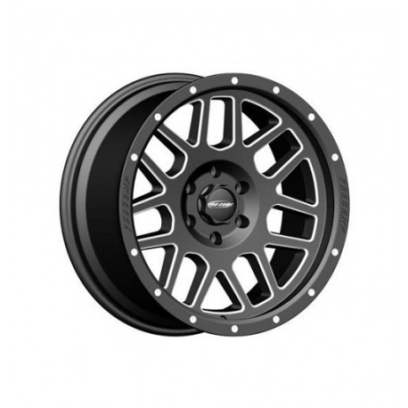 "Alloy Wheel 9x17"" 5x127 ET -6 - ProComp Model 5140 Satin Black - Jeep Grand Cherokee WJ"