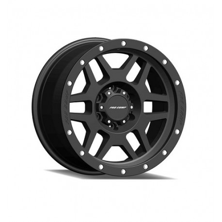"Alloy Wheel 9x17"" 5x127 ET -6 - ProComp Model 5041 Satin Black - Jeep Grand Cherokee WJ"