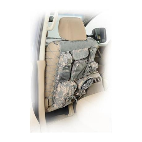 Front Seatback Covers Camo Smittybilt G.E.A.R. OFF ROAD UNIVERSAL (pair)