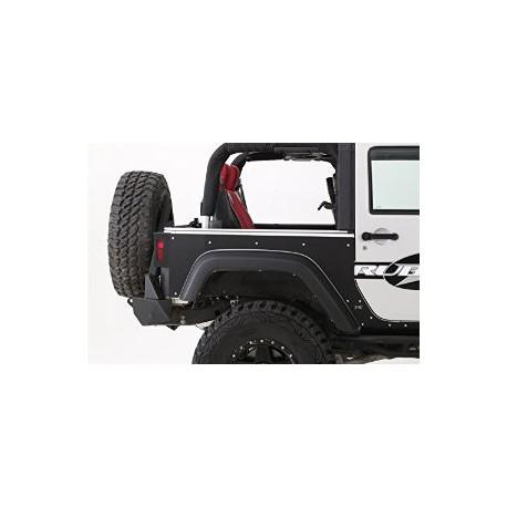 Rear Quarter Panel Armor Skins SMITTYBILT XRC - Jeep Wrangler JK 2 door