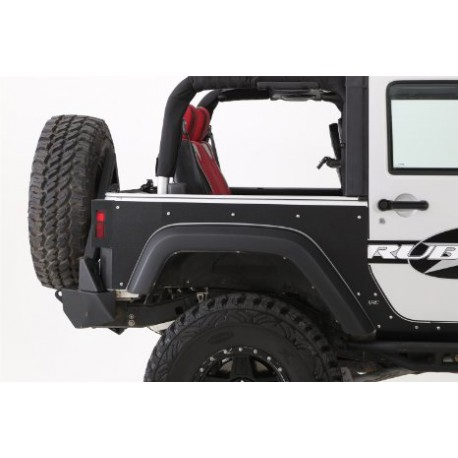 Rear Quarter Panel Armor Skins SMITTYBILT XRC - Jeep Wrangler JK 4 door