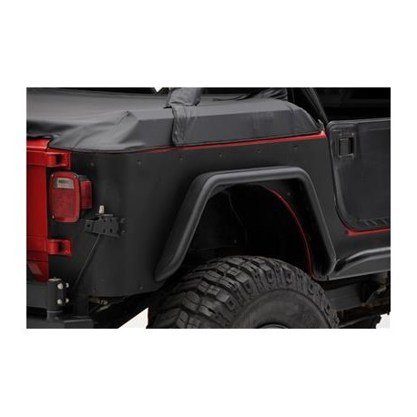 Rear Corner Guards SMITTYBILT XRC - Jeep Wrangler YJ