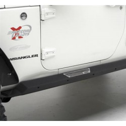 Side Armor with step Smittybilt XRC Rock Guards - Jeep Wrangler JK 2 door
