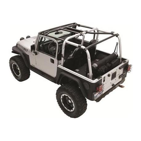 Roll Cage Kit Smittybilt XRC - Jeep Wrangler JK 07-10, 2 Door