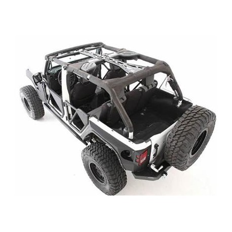 Roll Cage Kit Smittybilt XRC - Jeep Wrangler JK 10-14, 4 Door