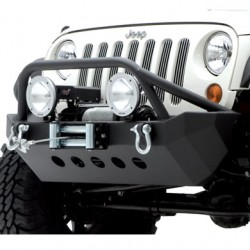 Front Steel Bumper with Winch Plate SMITTYBILT XRC Armor - Jeep Wrangler JK