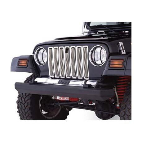 Chrome Aluminium Grille Inserts Smittybilt - Jeep Wrangler TJ