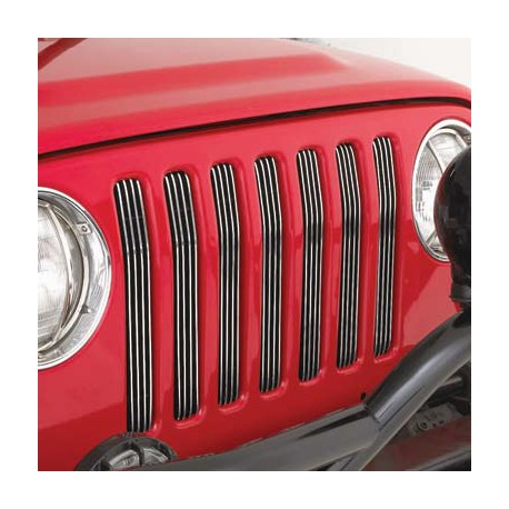 Billet Aluminium Grille Inserts Smittybilt - Jeep Wrangler TJ