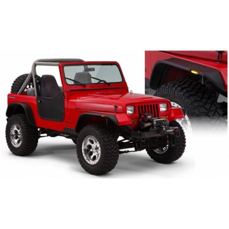 Fender Flares Bushwacker Flat Style - Jeep Wrangler YJ