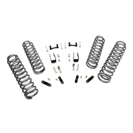 "2,5"" Rough Country Lift Kit - Jeep Wrangler JK 4 door"