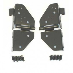 Windshield Hinge Set SMITTYBILT - Jeep Wrangler YJ