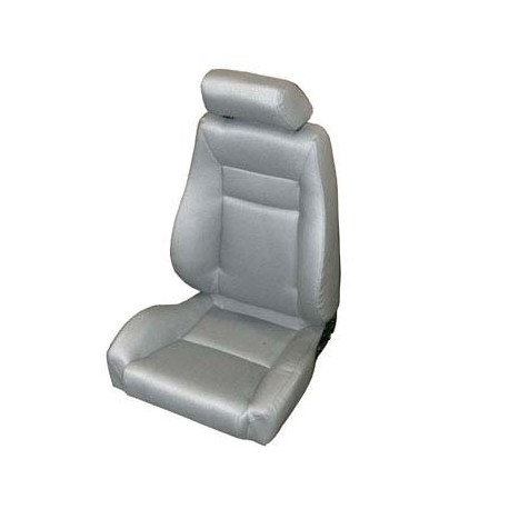 Front Super Seat Gray Smittybilt - Jeep Wrangler YJ