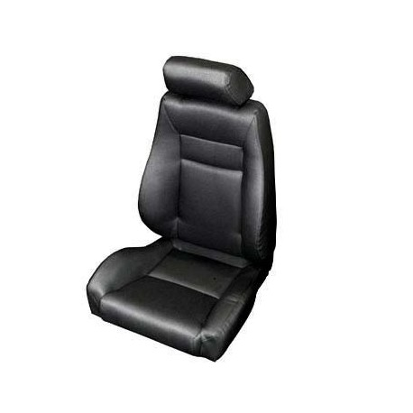 Front Super Seat Black Denim Smittybilt - Jeep Wrangler YJ
