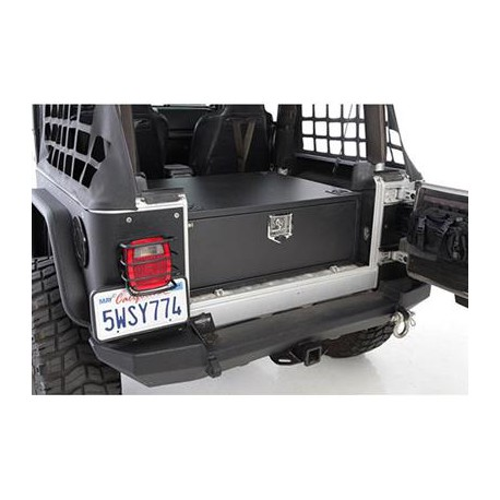 Rear Lockable Storage Box Smittybilt - Jeep Wrangler TJ