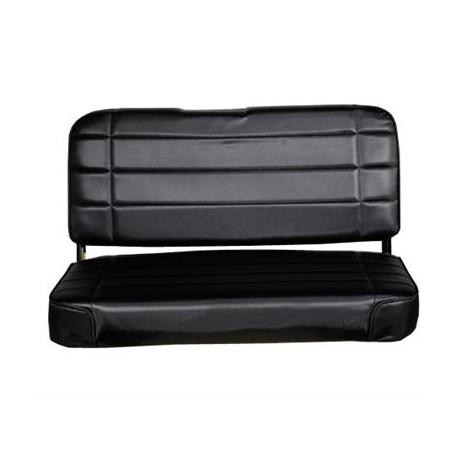 Standard Rear Seat Black Smittybilt  - Jeep Wrangler YJ