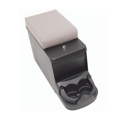 Security Floor Console/ Arm Rest Gray Smittybilt - Jeep Wrangler YJ