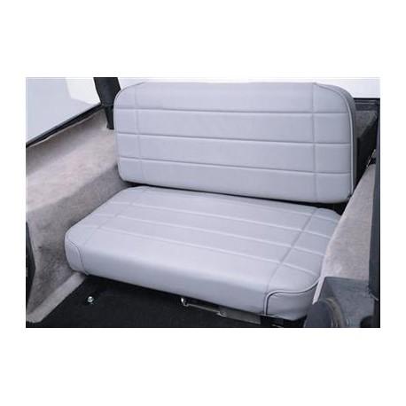 Standard Rear Seat Gray Denim Smittybilt - Jeep Wrangler YJ