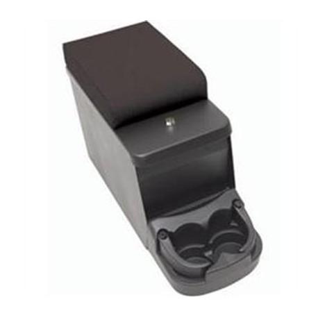 Security Floor Console/ Arm Rest Black Smittybilt - Jeep Wrangler YJ