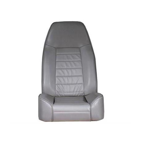 Front Seat Standard Bucket Gray Denim Smittybilt - Jeep Wrangler YJ