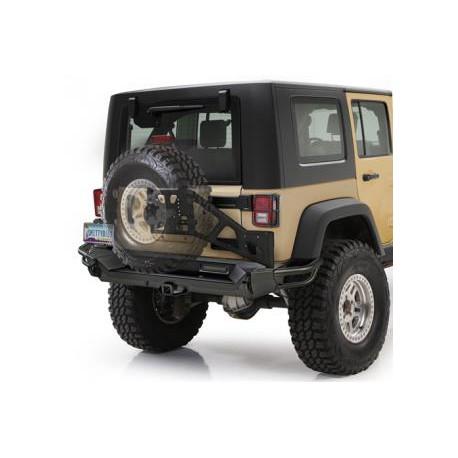 Rear Steel Bumper SMITTYBILT SRC Gen2 - Jeep Wrangler JK