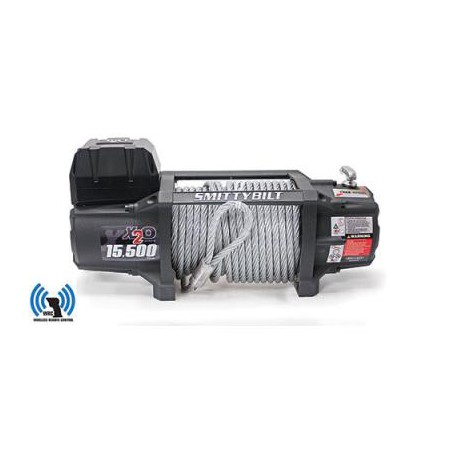 Winch Smittybilt X20 GEN 2 15500 lbs Waterproof Wirless Remote