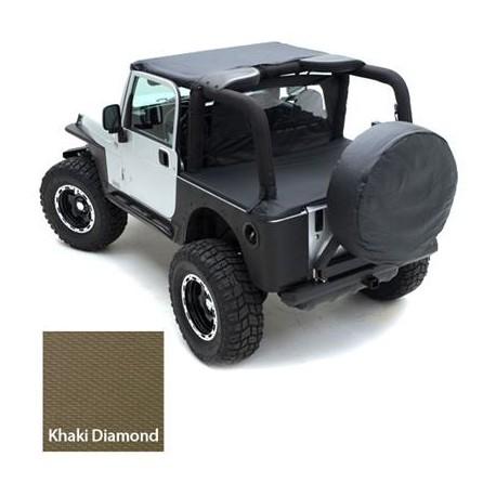 Tonneau Cover Khaki SMITTYBILT - Jeep Wrangler JK 4 drzwi