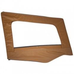 Replacement Upper Doorskin with Frame Spice Denim Passenger Side Smittybilt - Jeep Wrangler YJ