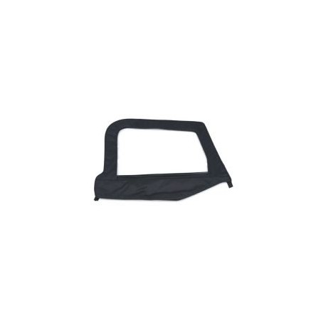 Replacement Upper Doorskins with Frame Black Diamond Smittybilt - Jeep Wrangler TJ