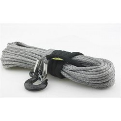 Synthetic Winch Rope Dyneema Smittybilt 8000 lbs