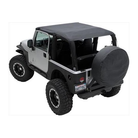 Extended Brief Top Waterproof Smittybilt - Jeep Wrangler LJ