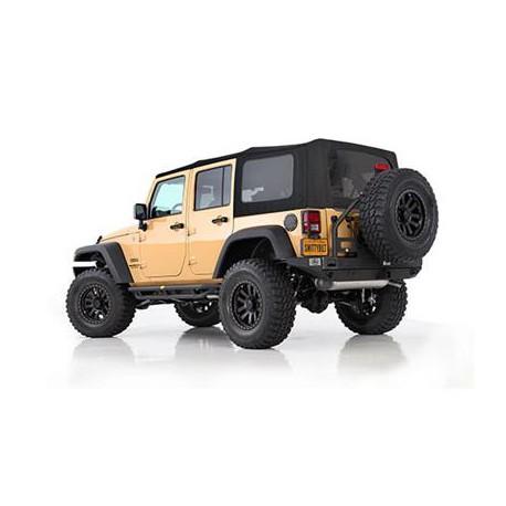 Premium Soft Top Black Smittybilt - Jeep Wrangler JK 4 drzwi 07-09