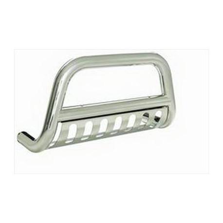 Grill Saver, Bull Bar Silver Smittybilt - Dodge RAM