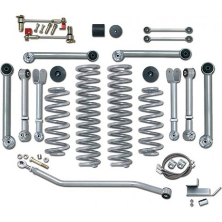 4.5''  Super-Flex Short Arm Lift Kit Rubicon Express - Jeep Wrangler TJ