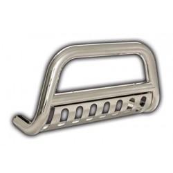 Grill Saver, Bull Bar Silver Smittybilt - Toyota Tacoma