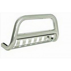 Grill Saver, Bull Bar Silver Smittybilt - Nissan Titan