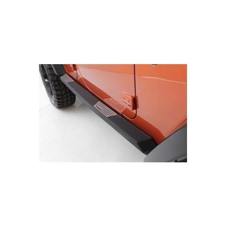 Side Bars SMITTYBILT Atlas - Jeep Wrangler JK 2 door