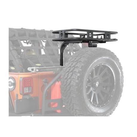 Tailgate Rack, Basket Smittybilt Defender - Jeep Wrangler JK