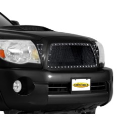 M1 Black Mesh Grille SMITTYBILT - Toyota Tacoma 13-15