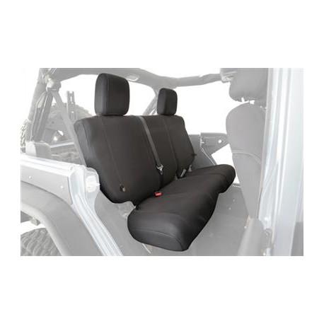 Rear Seat Cover Black Smittybilt G.E.A.R. - Jeep Wrangler TJ 97-02