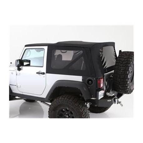 Premium Soft Top Black Smittybilt - Jeep Wrangler JK 2 drzwi 07-09