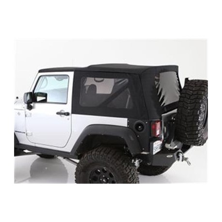 Premium Soft Top Black Smittybilt - Jeep Wrangler JK 2 drzwi 10-15
