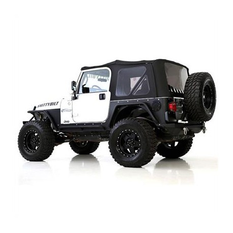 Premium Soft Top Black Smittybilt - Jeep Wrangler TJ