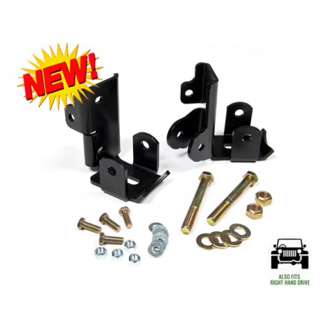 Rear Shock Relocation Kit JKS - Jeep Wranagler JK