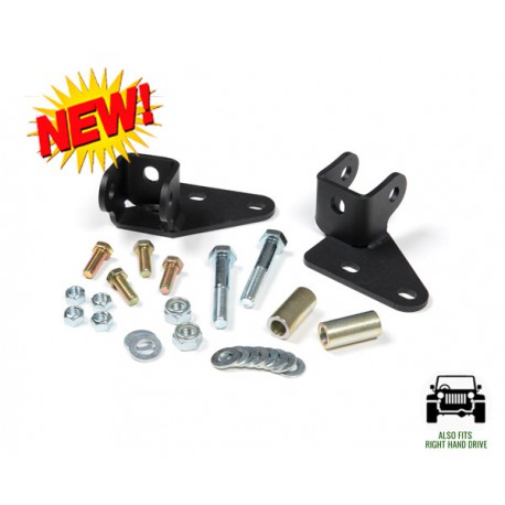 Front Shock Relocation JKS - Jeep Wranagler JK
