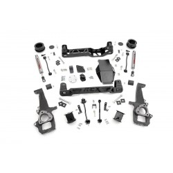 "4"" Rough Country Lift Kit - Dodge RAM 1500 4WD 12-15"