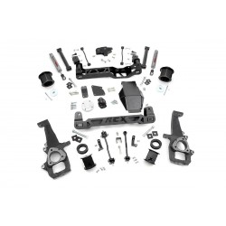"6"" Rough Country Lift Kit - Dodge RAM 1500 4WD 12-15"