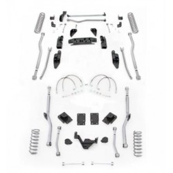"4,5"" Extreme Duty Long Arm Lift Kit 4 Link Front / Radius Rear RUBICON EXPRESS - Jeep Wrangler JK 2 door"